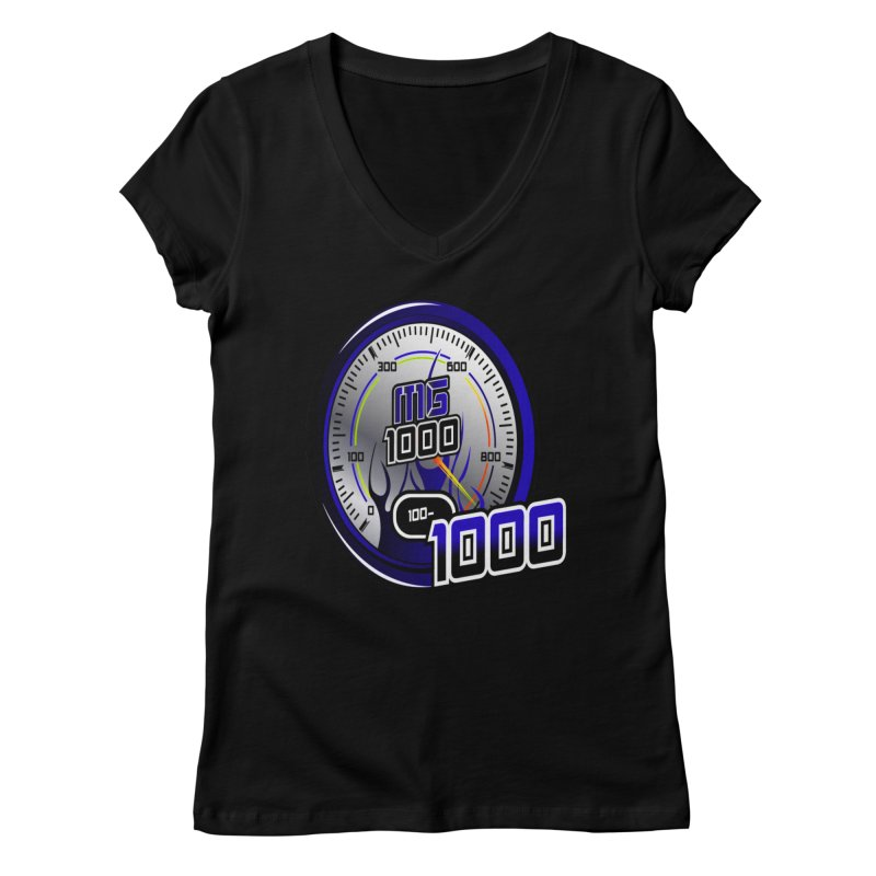MG1000 Women's V-Neck by Ginotopia