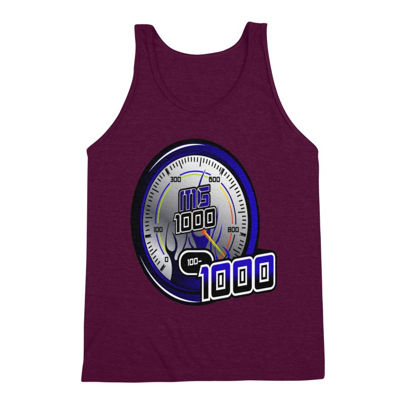 MG1000 Men's Triblend Tank by Ginotopia