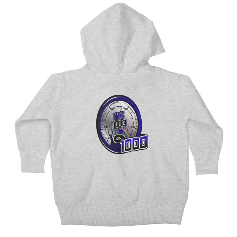 MG1000 Kids Baby Zip-Up Hoody by Ginotopia