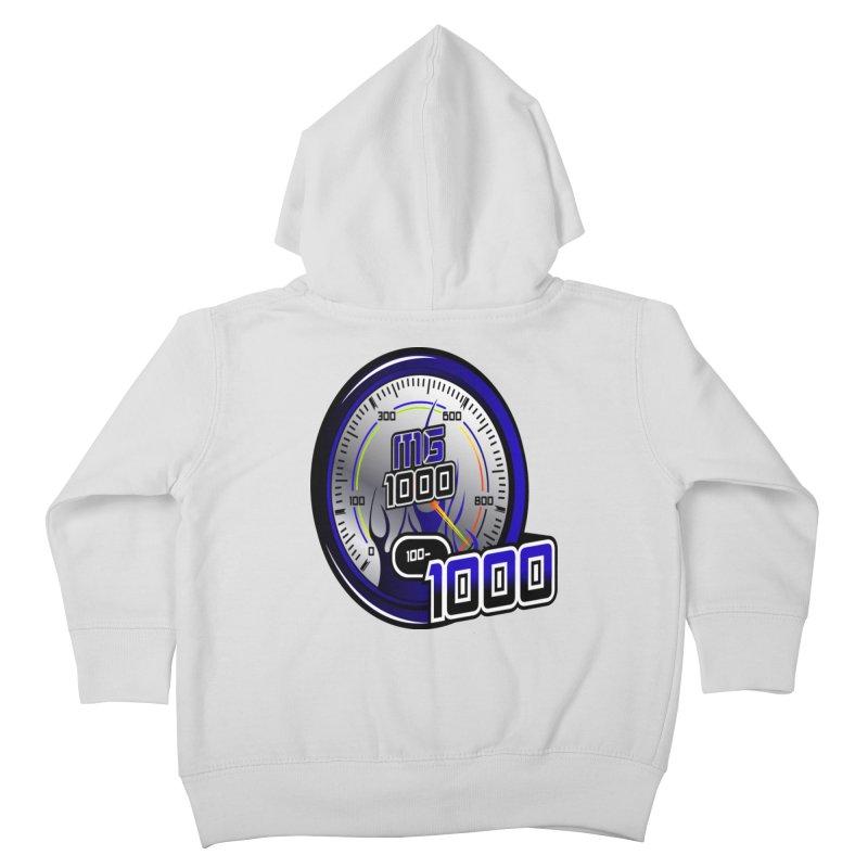 MG1000 Kids Toddler Zip-Up Hoody by Ginotopia
