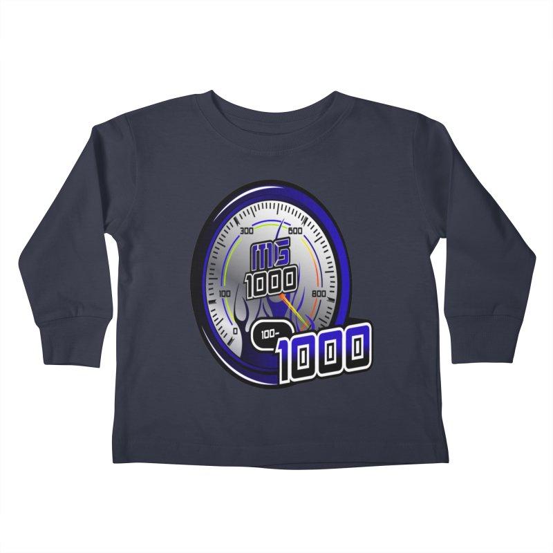 MG1000 Kids Toddler Longsleeve T-Shirt by Ginotopia