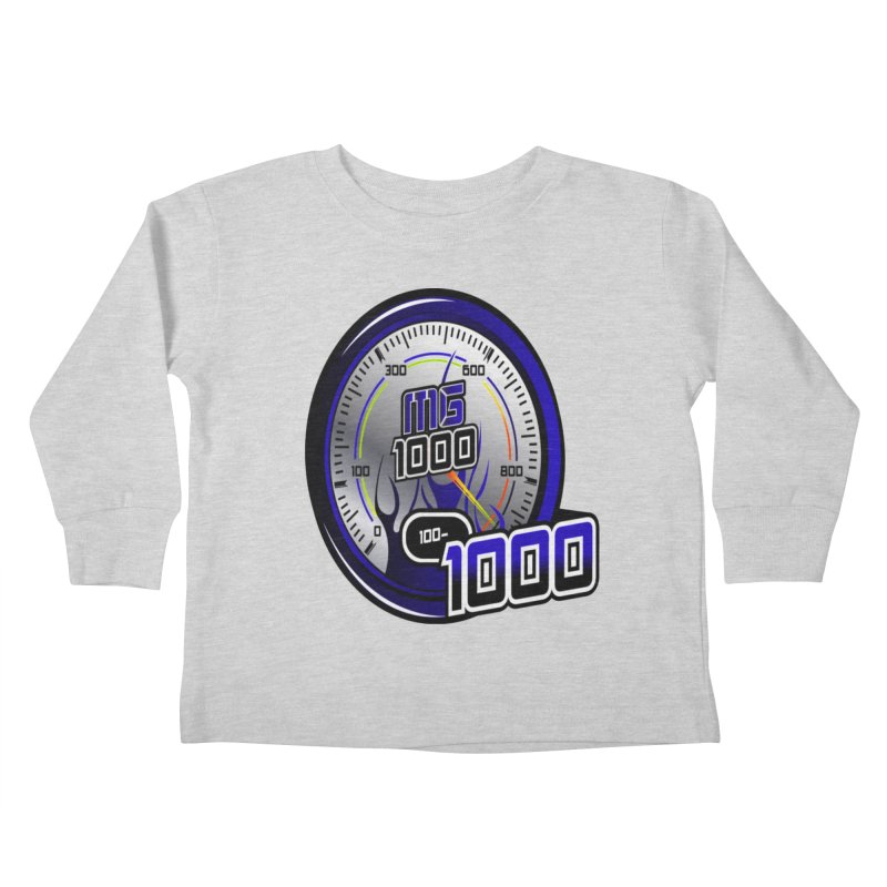 MG1000 Kids Toddler Longsleeve T-Shirt by Ginotopia
