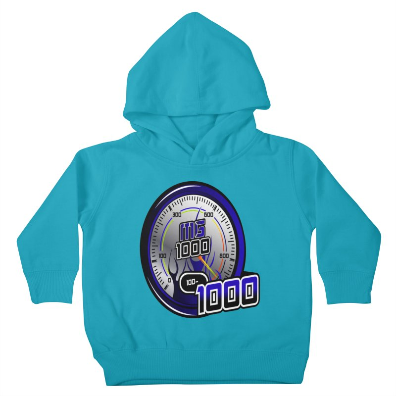 MG1000 Kids Toddler Pullover Hoody by Ginotopia