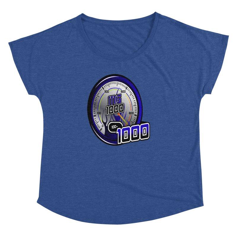 MG1000 Women's Dolman Scoop Neck by Ginotopia