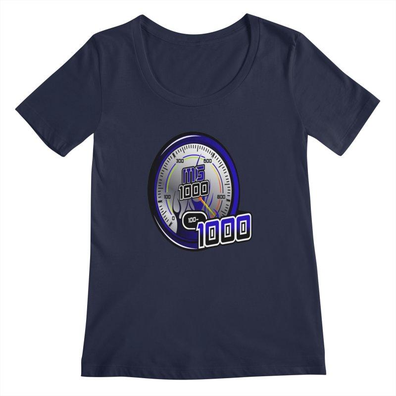 MG1000 Women's Regular Scoop Neck by Ginotopia