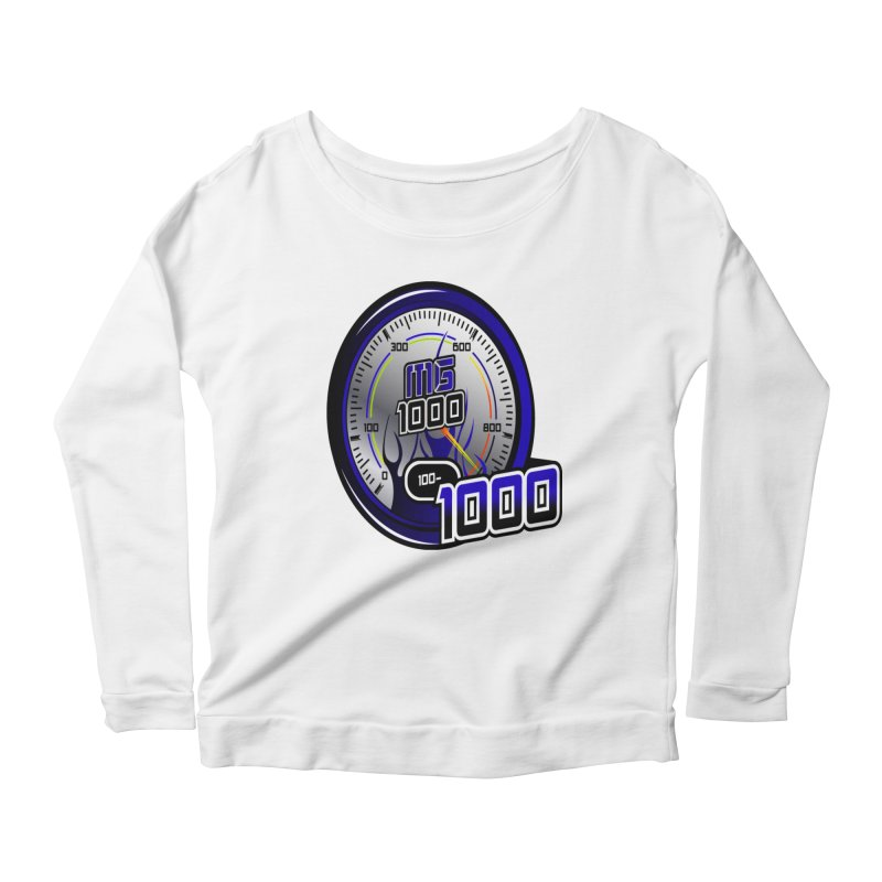 MG1000 Women's Scoop Neck Longsleeve T-Shirt by Ginotopia