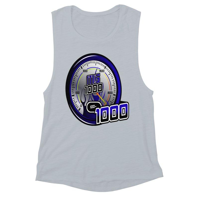 MG1000 Women's Muscle Tank by Ginotopia