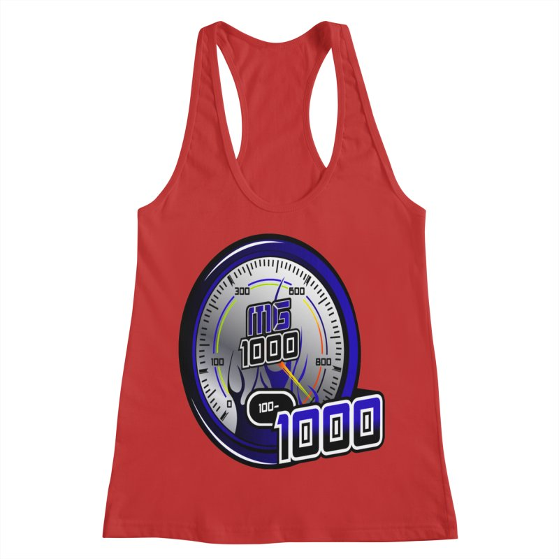 MG1000 Women's Racerback Tank by Ginotopia