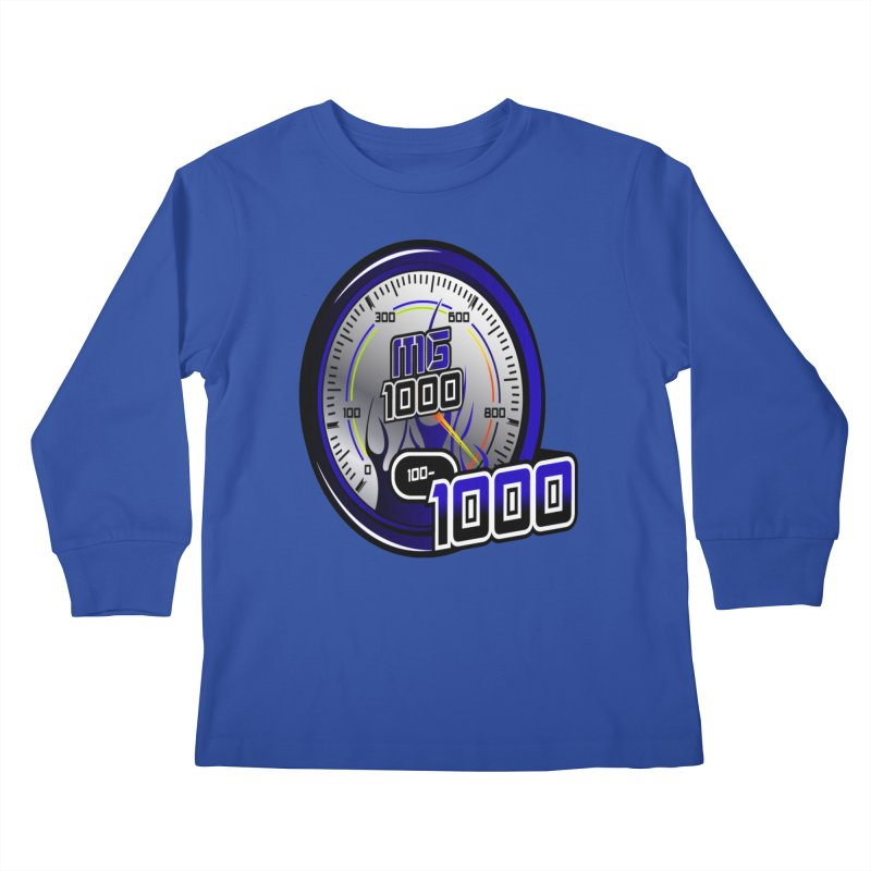 MG1000 Kids Longsleeve T-Shirt by Ginotopia