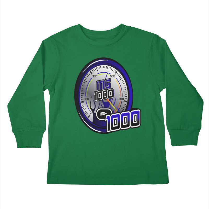 MG1000 Kids Longsleeve T-Shirt by Ginotopia
