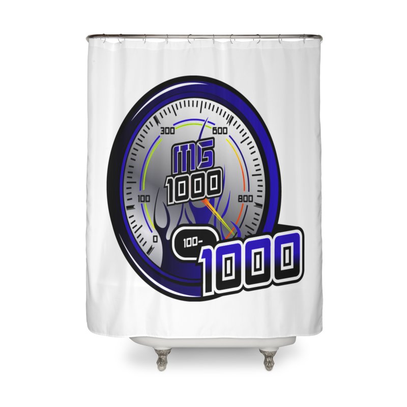 MG1000 Home Shower Curtain by Ginotopia