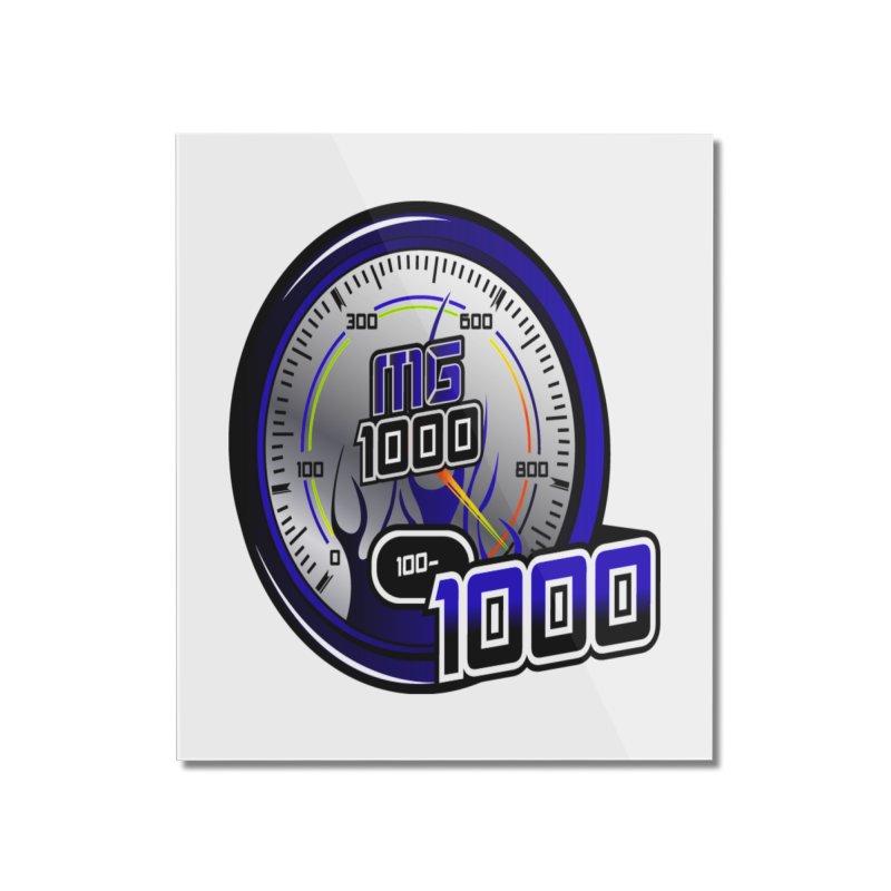 MG1000 Home Mounted Acrylic Print by Ginotopia