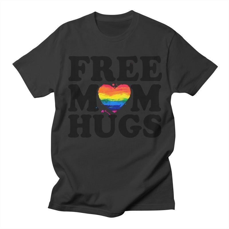 Free Mom Hugs Men's Regular T-Shirt by Glitterlips's Artist Shop