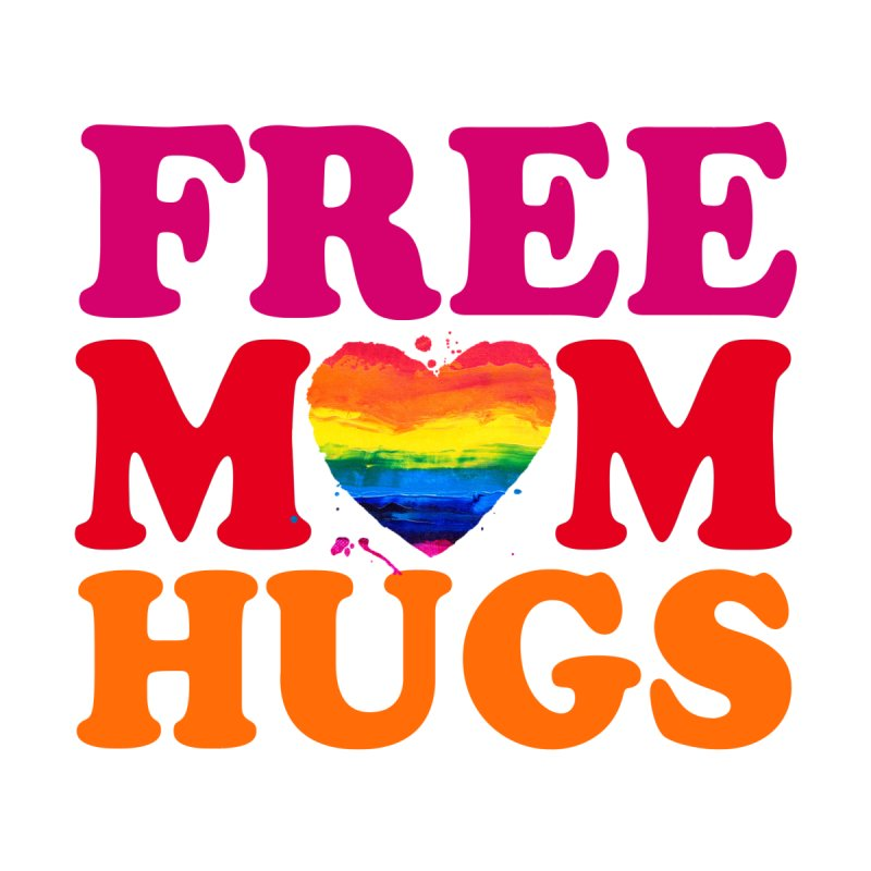 Colorful Mom Hugs by Glitterlips's Artist Shop