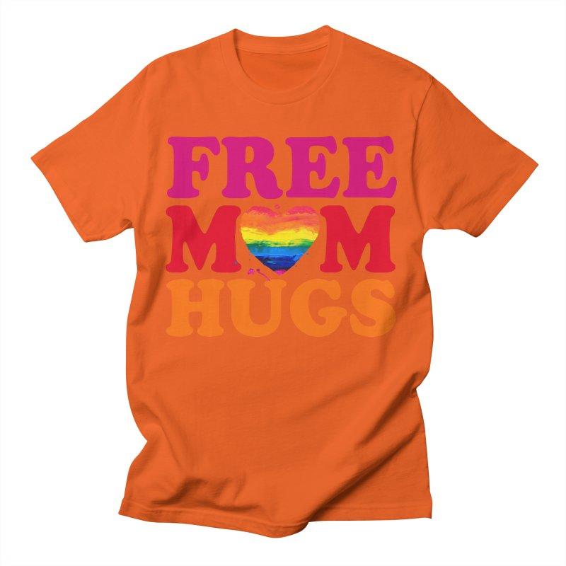 Colorful Mom Hugs Men's T-Shirt by Glitterlips's Artist Shop