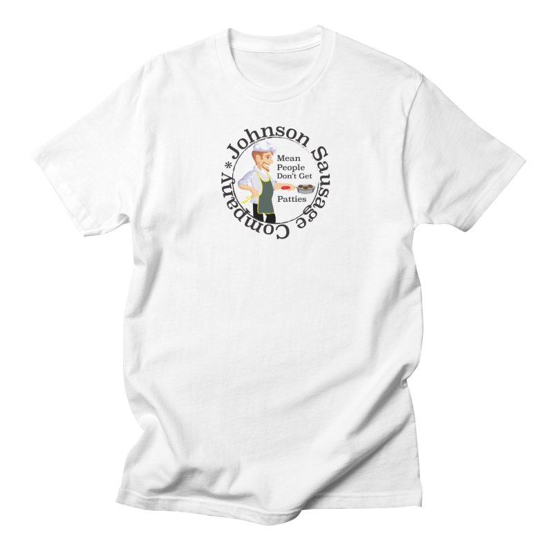 Johnson Sausage Company Men's T-Shirt by Glitterlips's Artist Shop