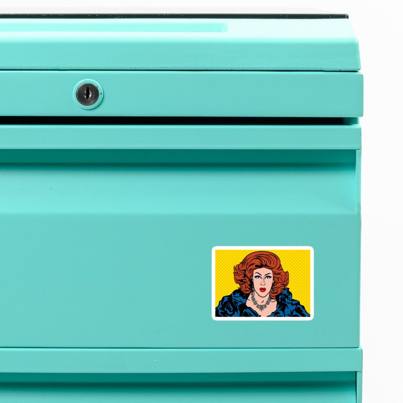 Pop Shirley Accessories Magnet by Glitterlips's Artist Shop