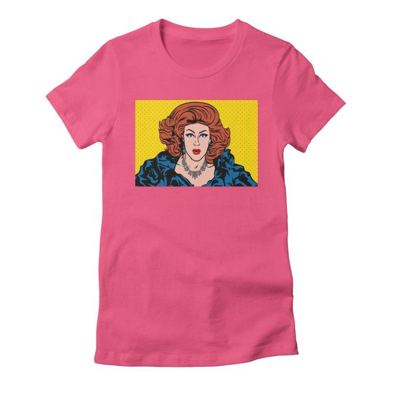 Pop Shirley Women's T-Shirt by Glitterlips's Artist Shop