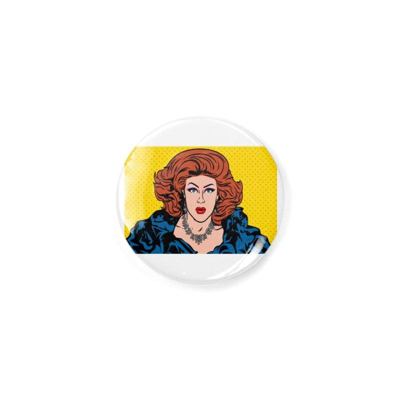 Pop Shirley Accessories Button by Glitterlips's Artist Shop