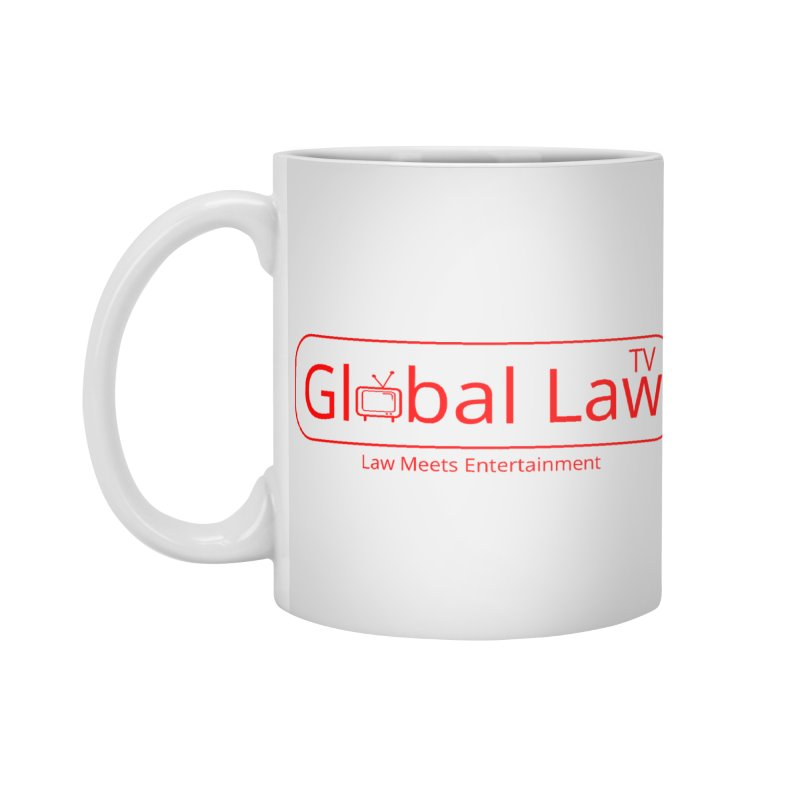 Global Law TV Logo Accessories Standard Mug by GlobalLawTV's Artist Shop