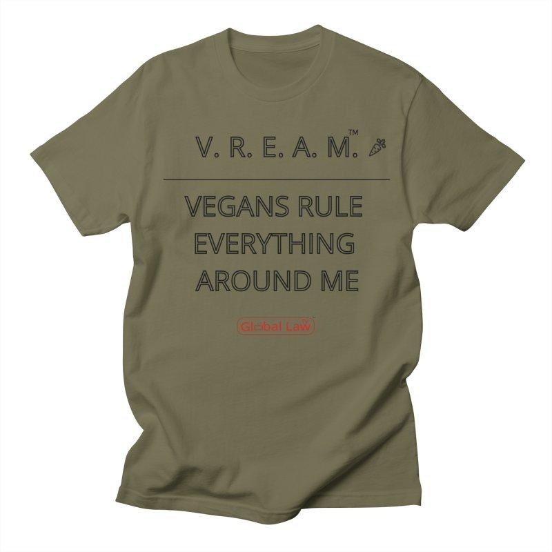 VREAM Men's Regular T-Shirt by GlobalLawTV's Artist Shop