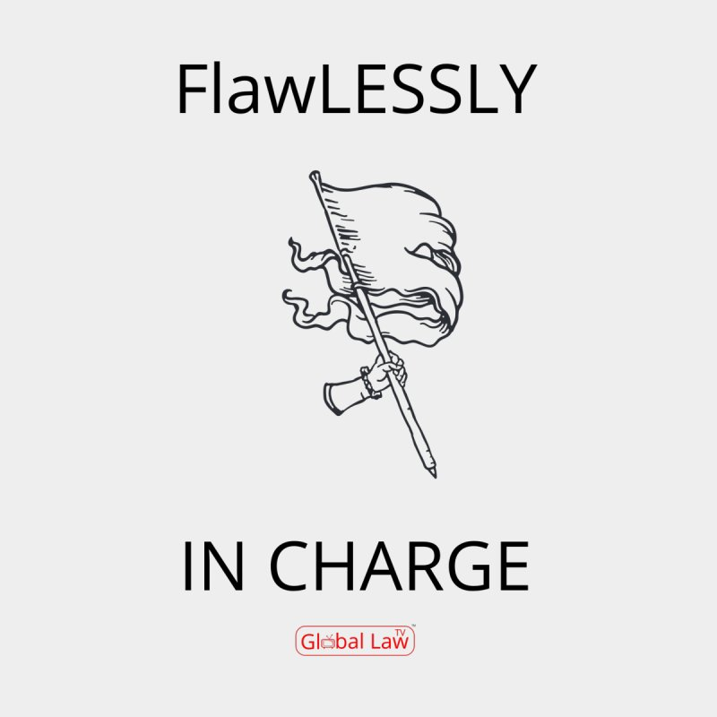 Flawlessly in Charge by GlobalLawTV's Artist Shop