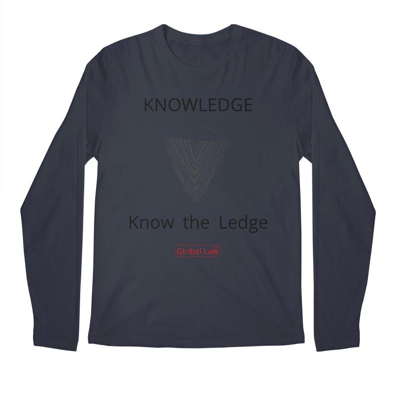 Know the Ledge Men's Regular Longsleeve T-Shirt by GlobalLawTV's Artist Shop