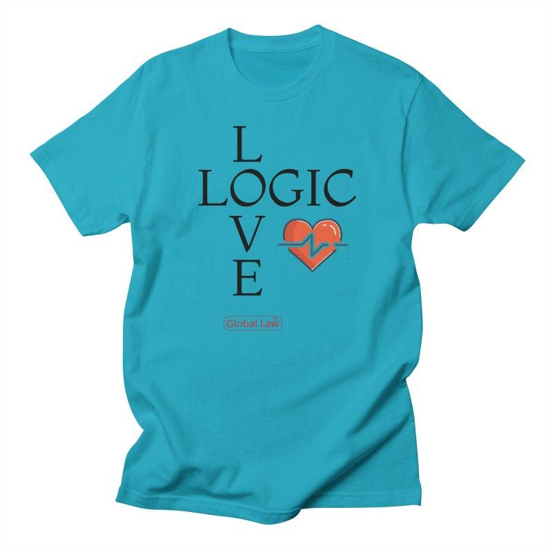 Love Logic Men's T-Shirt by GlobalLawTV's Artist Shop