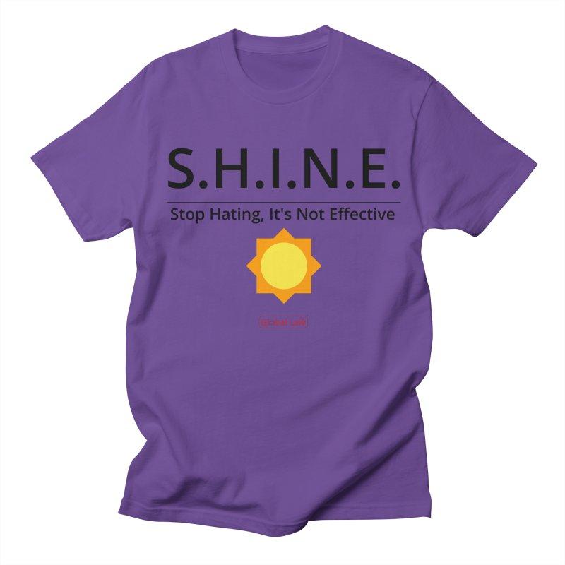 Shine Men's T-Shirt by GlobalLawTV's Artist Shop