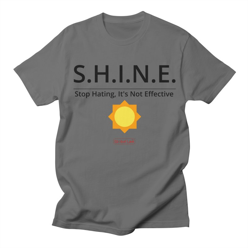 Shine Men's T-Shirt by GlobalLawTV's Artist Shop