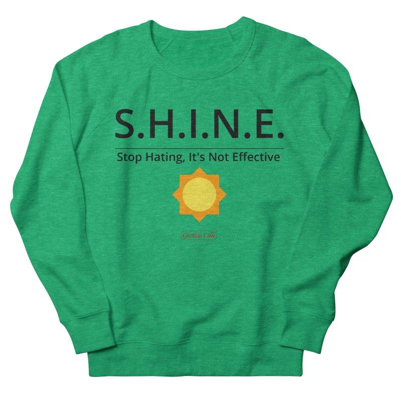 Shine Women's Sweatshirt by GlobalLawTV's Artist Shop