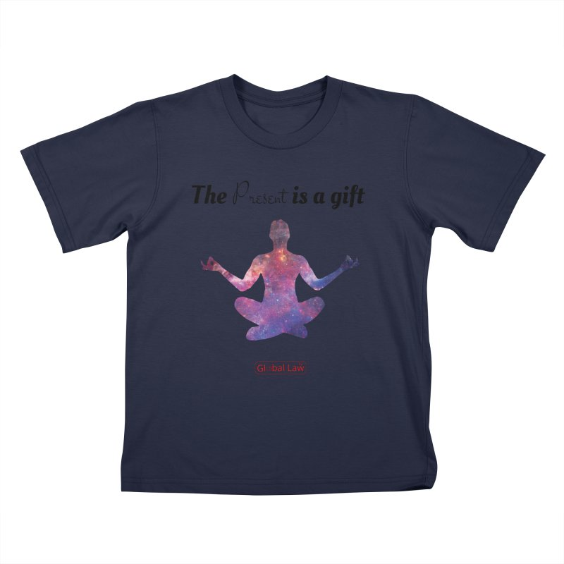 Be Present Kids T-Shirt by GlobalLawTV's Artist Shop
