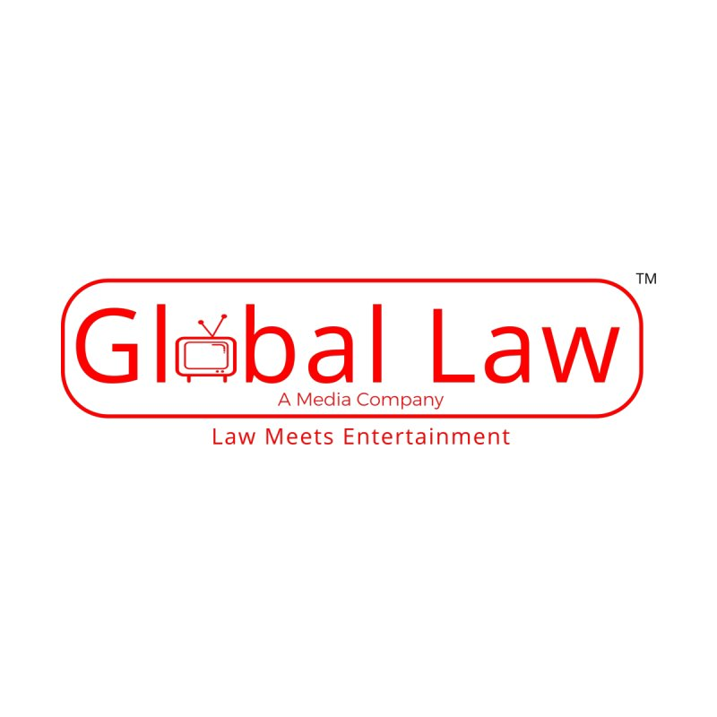 Global Law Media Sticker by GlobalLawTV's Artist Shop