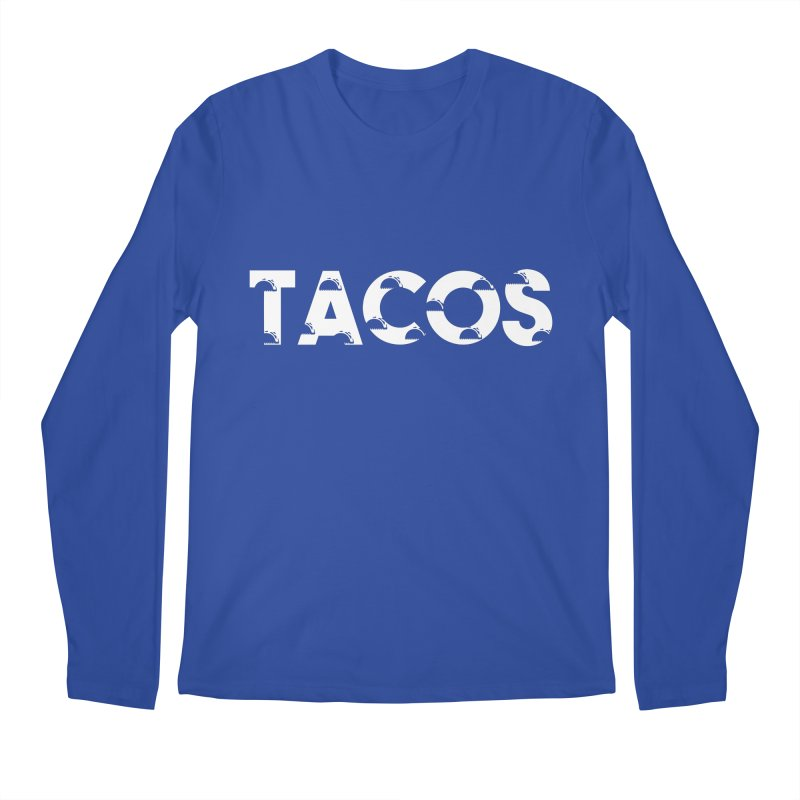 Tacos Men's Regular Longsleeve T-Shirt by Gmo's Artist Shop