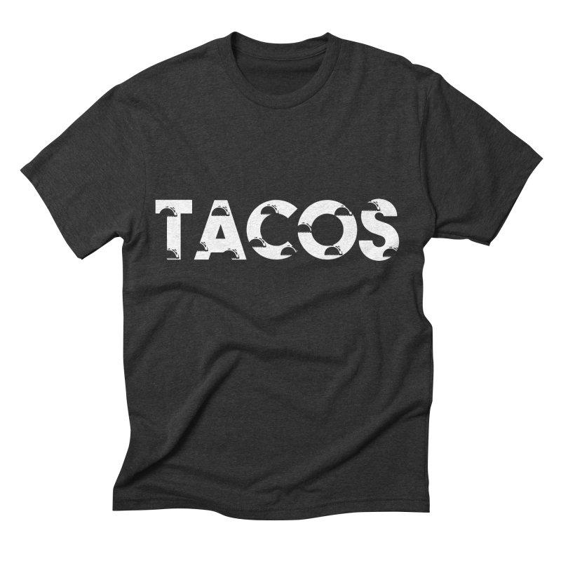 Tacos Men's Triblend T-shirt by Gmo's Artist Shop