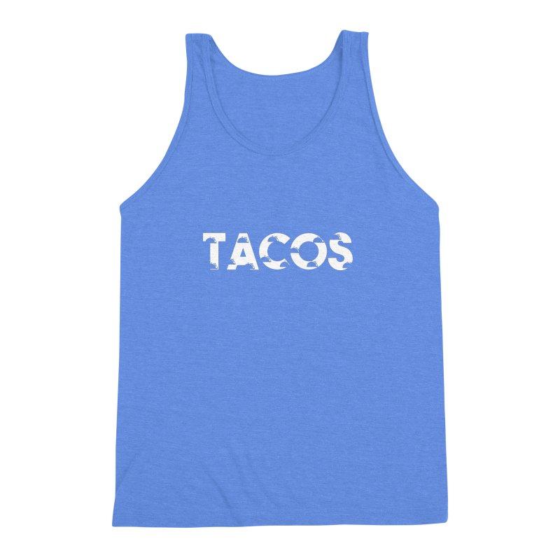 Tacos Men's Triblend Tank by Gmo's Artist Shop