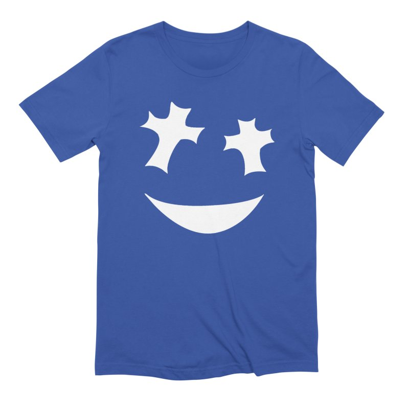 Godlikes Face in Men's Extra Soft T-Shirt Royal Blue by Godlikes