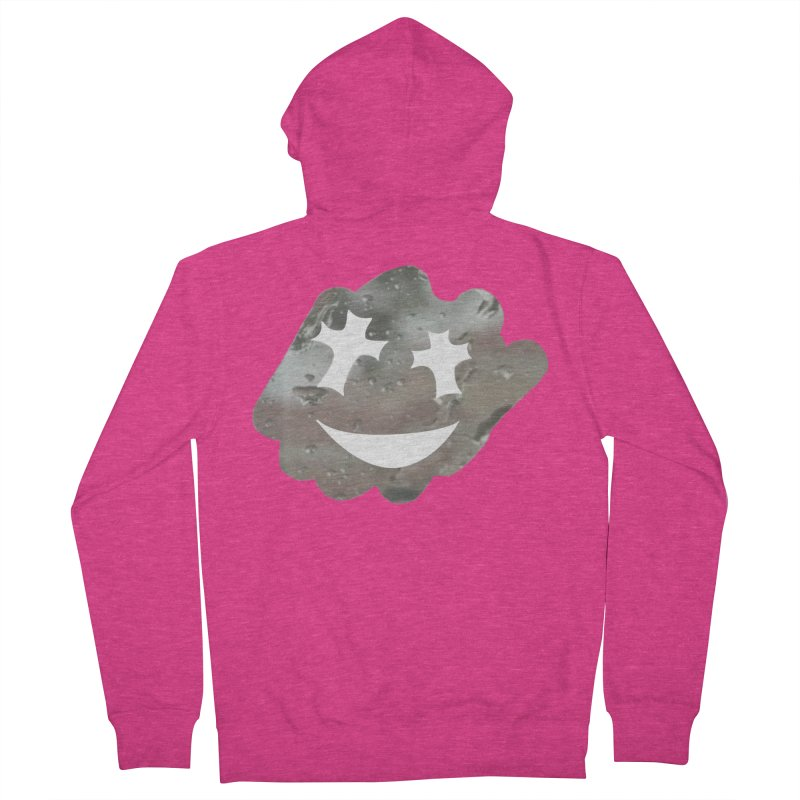 Clean the Window in Women's French Terry Zip-Up Hoody Heather Heliconia by Godlikes