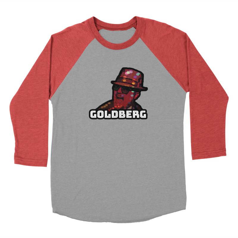 Goldberg Lets Dance Men's Baseball Triblend T-Shirt by Goldberg's Artist Shop