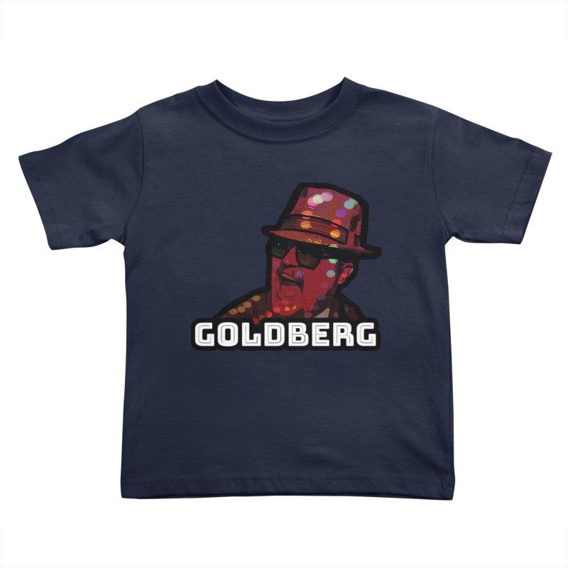 Goldberg Lets Dance Kids Toddler T-Shirt by Goldberg's Artist Shop