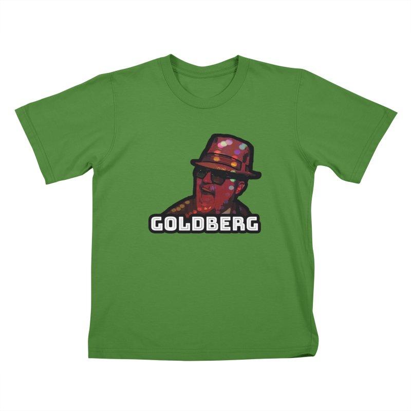 Goldberg Lets Dance Kids T-Shirt by Goldberg's Artist Shop