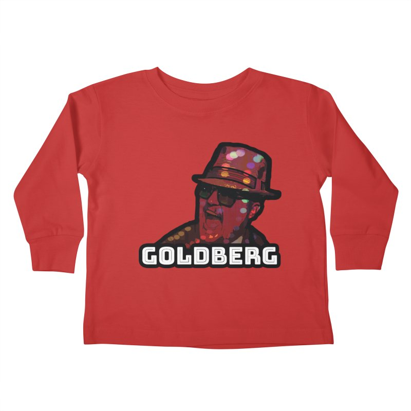 Goldberg Lets Dance Kids Toddler Longsleeve T-Shirt by Goldberg's Artist Shop