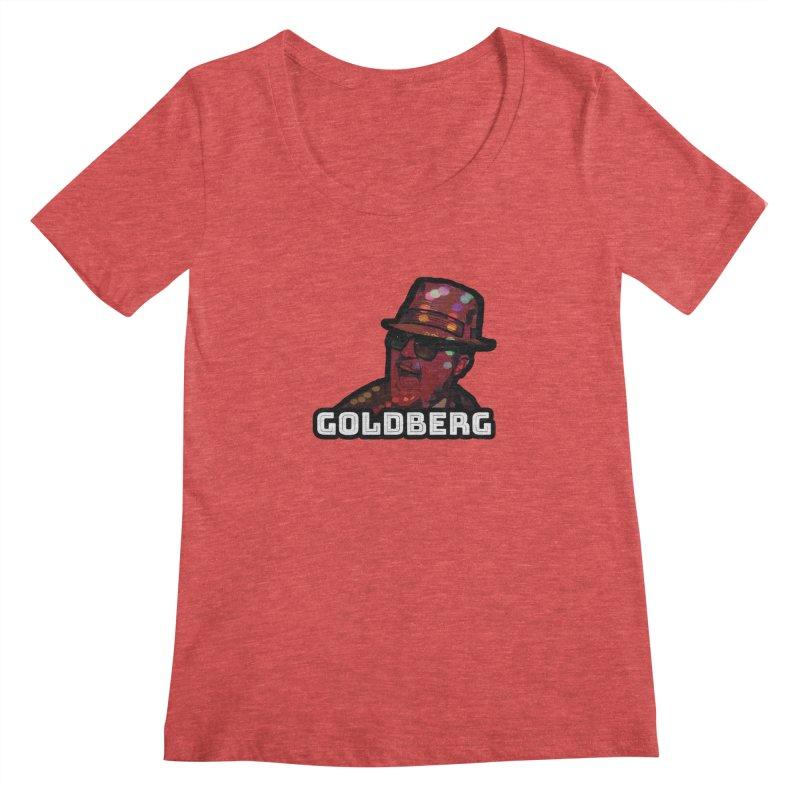 Goldberg Lets Dance Women's Scoopneck by Goldberg's Artist Shop