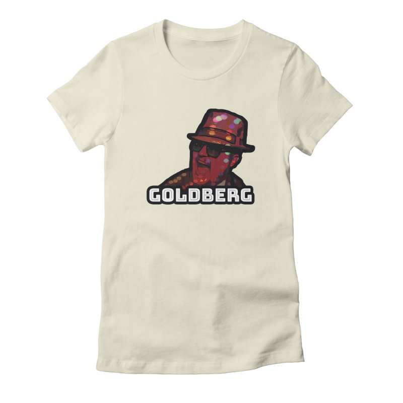 Goldberg Lets Dance Women's Fitted T-Shirt by Goldberg's Artist Shop