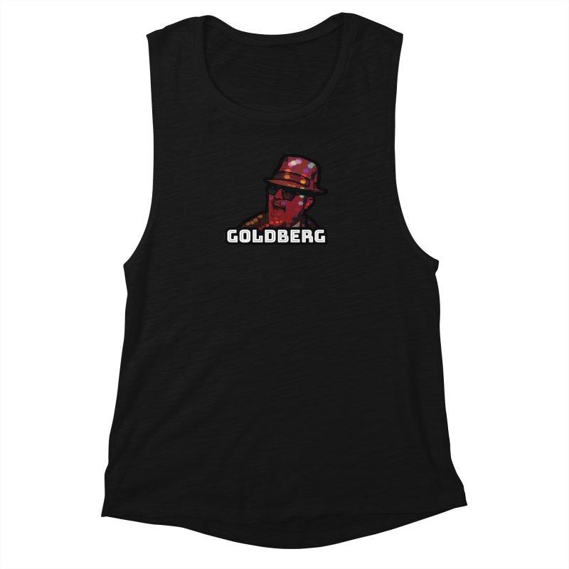 Goldberg Lets Dance Women's Muscle Tank by Goldberg's Artist Shop