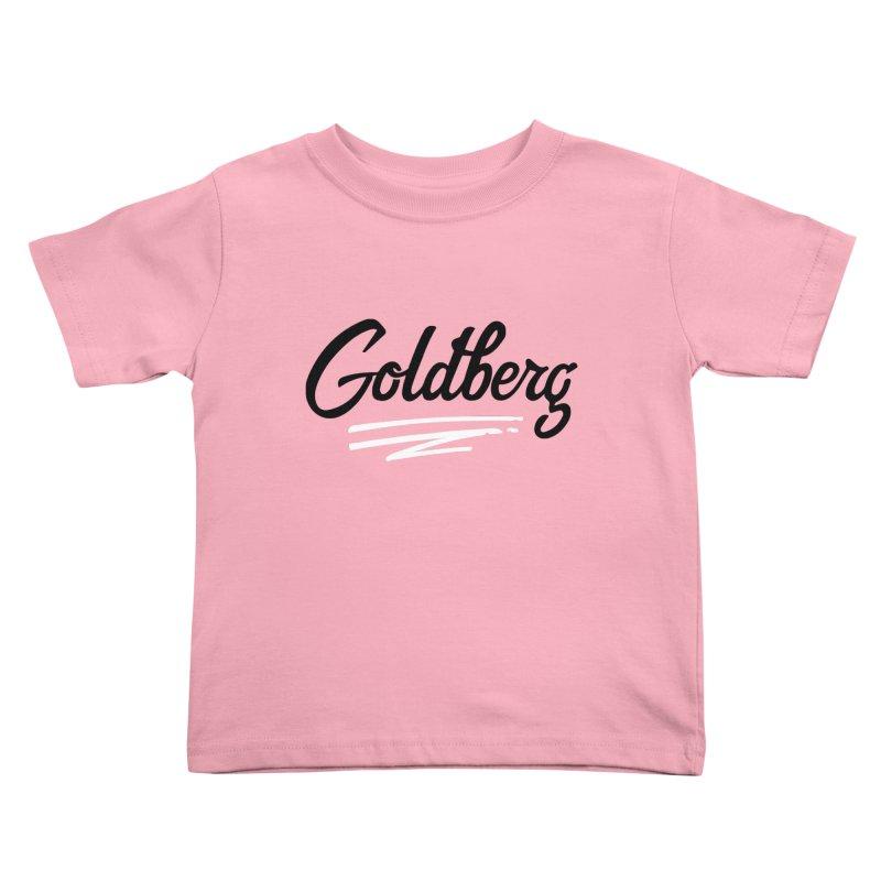Goldberg Logo Kids Toddler T-Shirt by Goldberg's Artist Shop