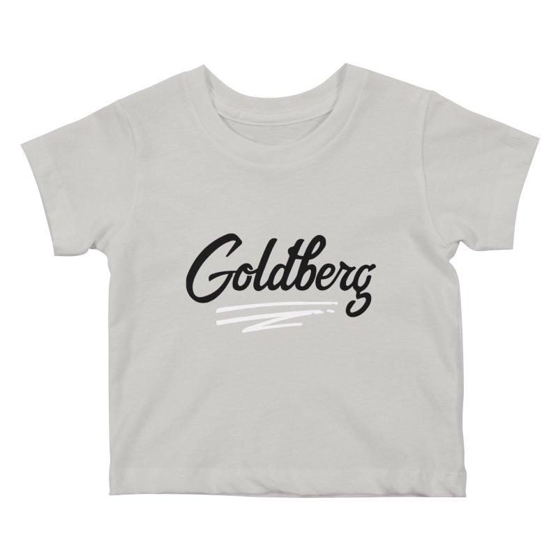 Goldberg Logo Kids Baby T-Shirt by Goldberg's Artist Shop