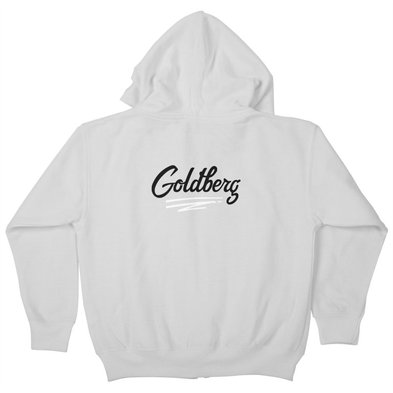 Goldberg Logo Kids Zip-Up Hoody by Goldberg's Artist Shop