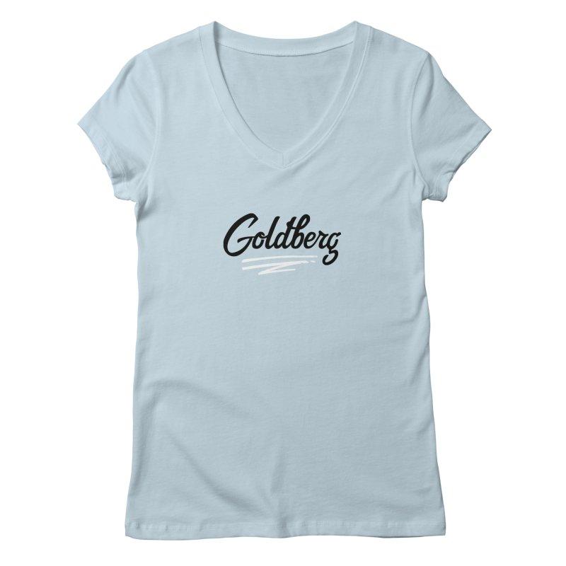 Goldberg Logo Women's V-Neck by Goldberg's Artist Shop
