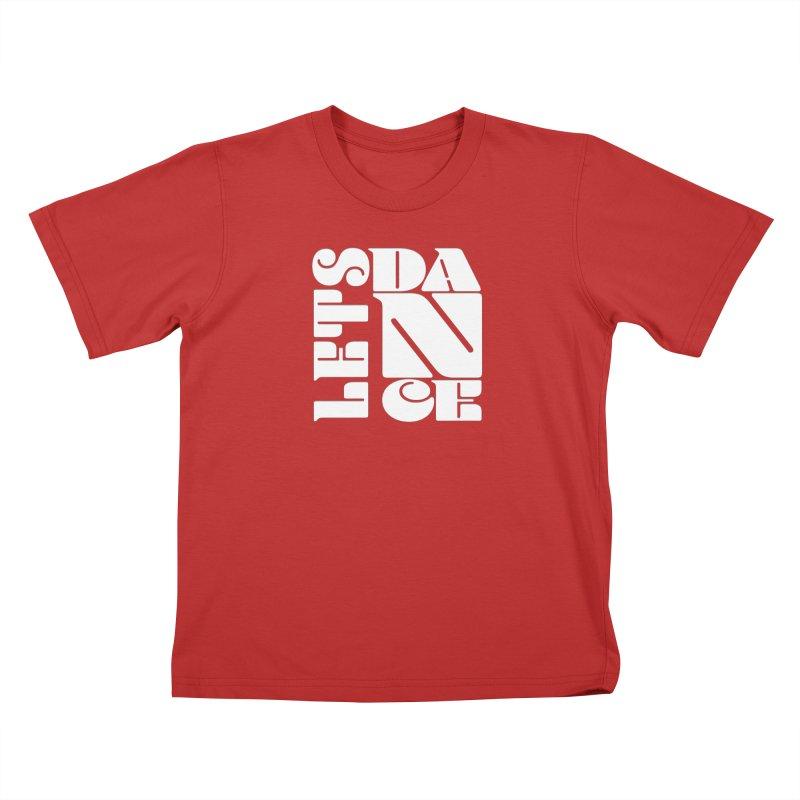Let's Dance Kids T-Shirt by Goldberg's Artist Shop